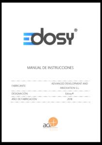EDOSY - Manual de Instrucciones
