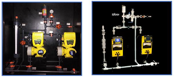 Skid de Dosificación - Compartiva de sistema de dosificación de productos químicos